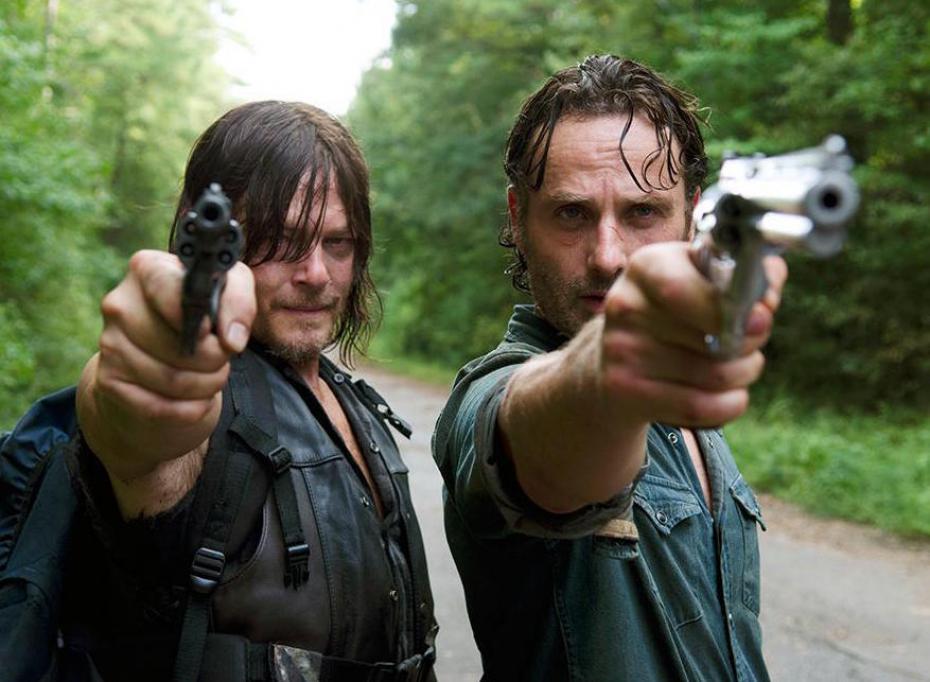 """The Walking Dead seguirá con una """"dura despedida"""" y """"lleno de peligros"""""""