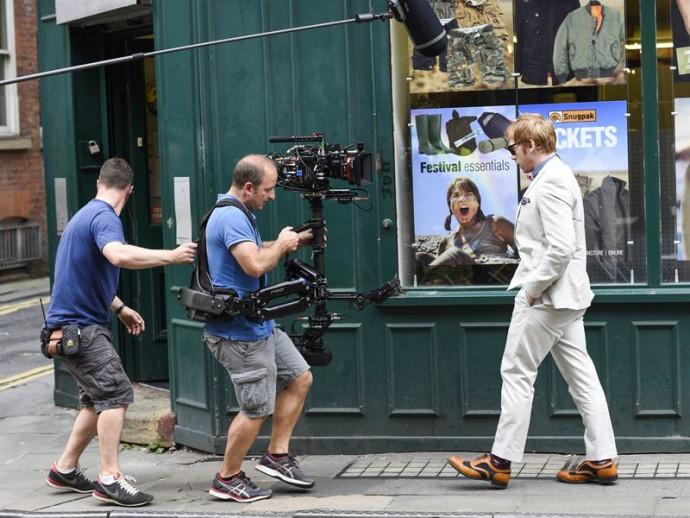 Snatch: primeras imágenes de Rupert Grint en el rodaje
