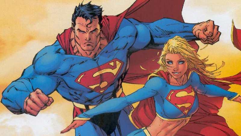 Supergirl: ya podemos ver a Supergirl y a Superman volando juntos