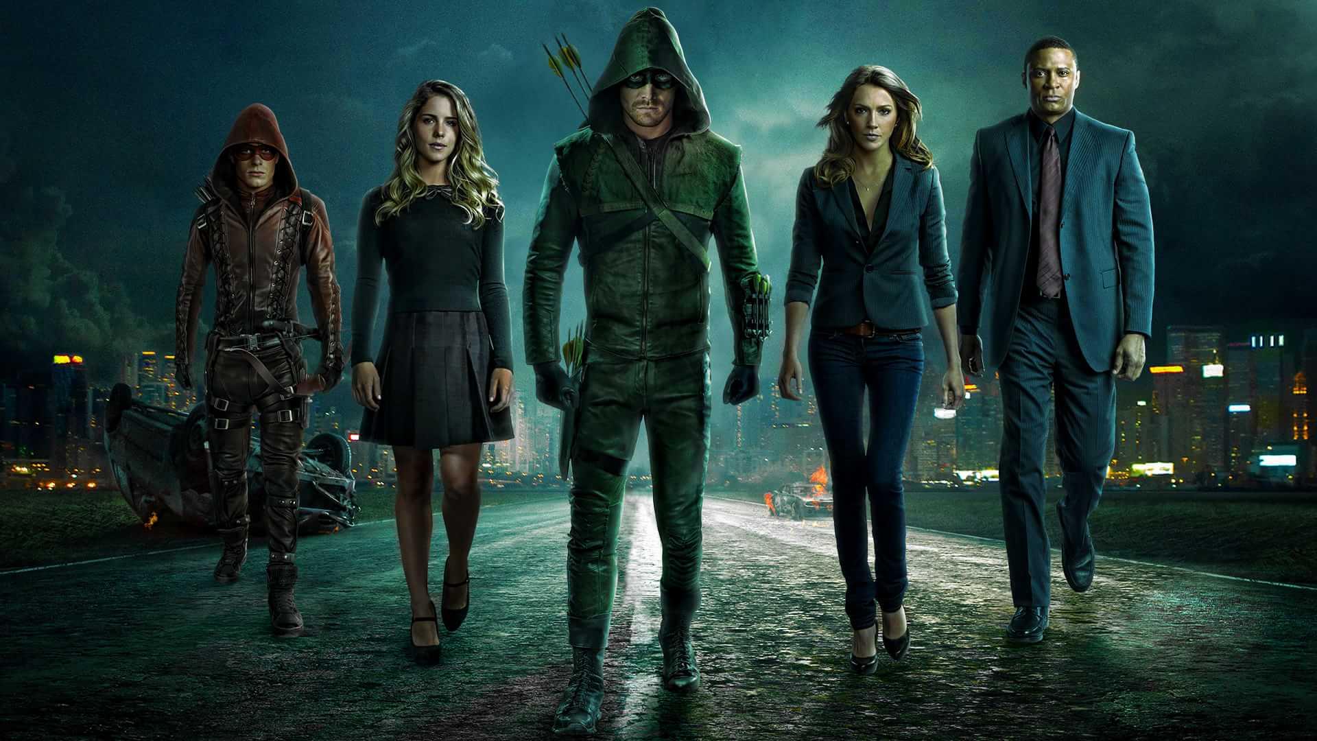 Arrow: ya tenemos el póster de la quinta temporada de la serie