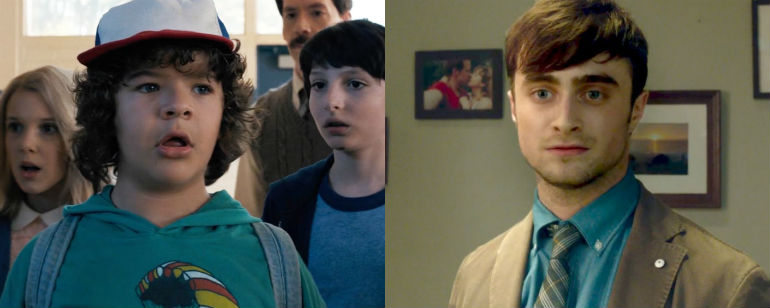 Stranger Things: los actores reaccionan a que Daniel Radcliffe sea su fan