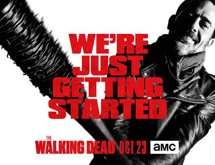 The Walking Dead: vemos una amenaza de Negan en el nuevo póster