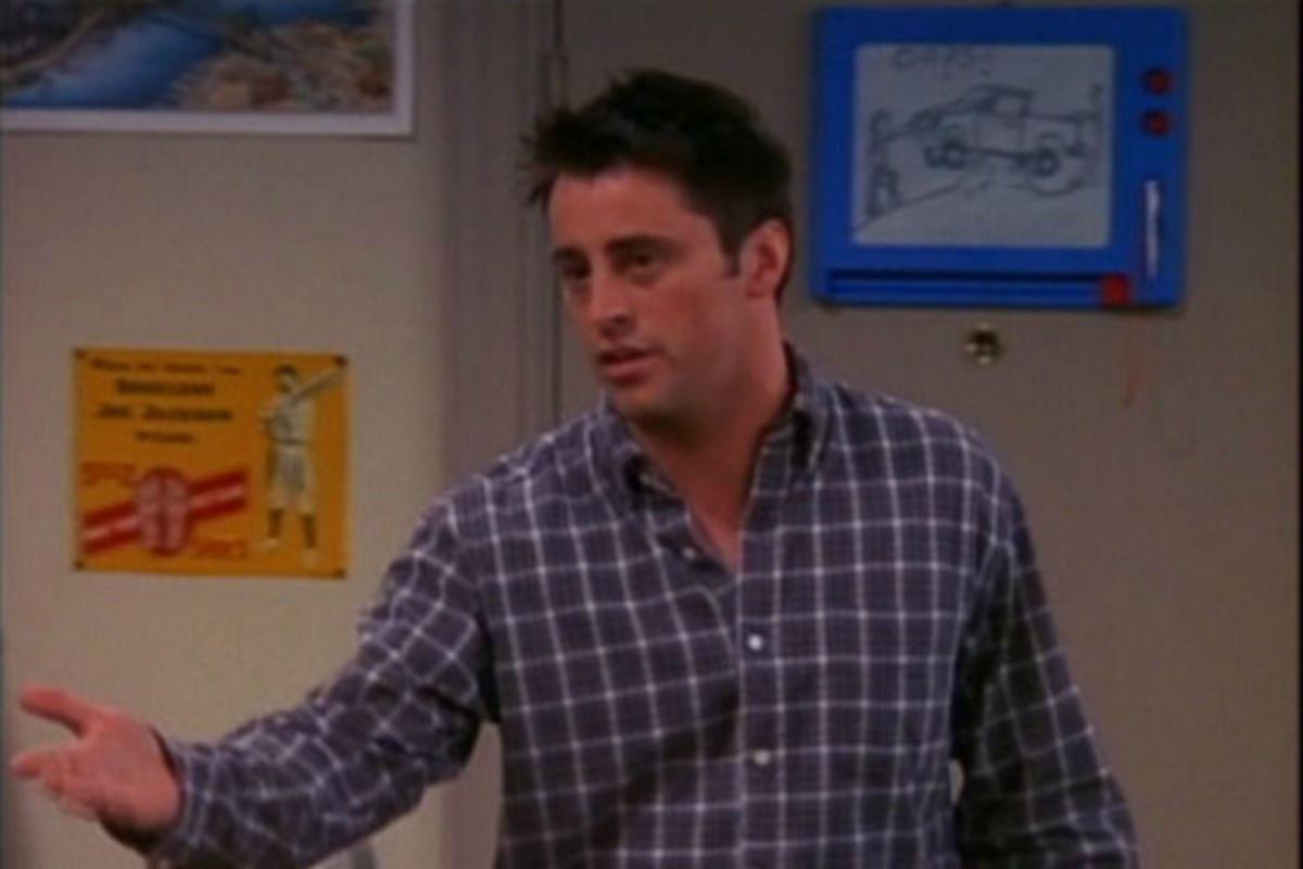 Friends: la pizarra magnética tenía bastantes cosas que decir
