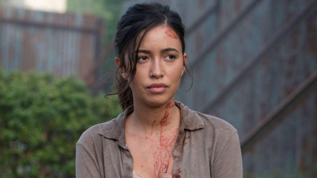The Walking Dead: Christian Serratos habla sobre los planes de Rosita