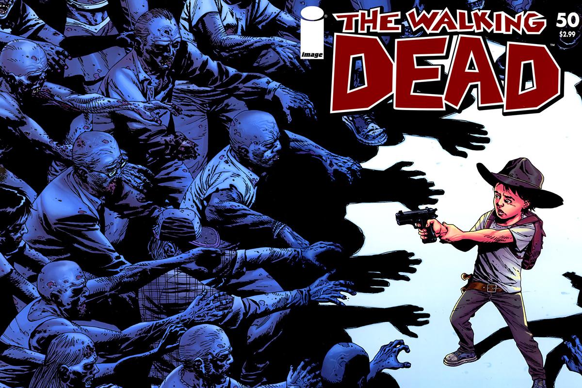 The Walking Dead: fíjate en una diferencia entre la serie y el cómic
