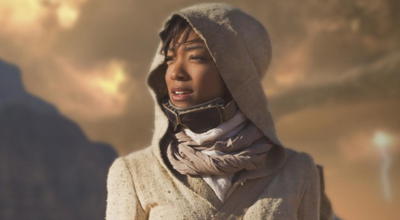 La actriz Sonequa Martin-Green se despide así de su papel en The Walking Dead.