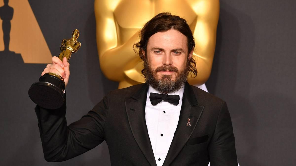 El actor ganó consiguió la ansiada estatuilla gracias a su interpretación en 'Manchester frente al mar'.