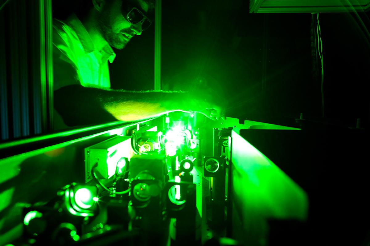 CPU, la cámara ultra rápida que permite ver el desplazamiento de la luz