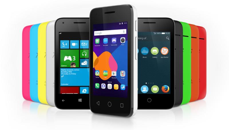 Alcatel Pixi 3, descubre cómo será el smartphone con Android, Windows Phone y Firefox OS