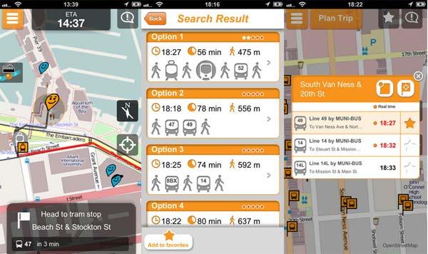 Moovit, una app en pro del transporte público
