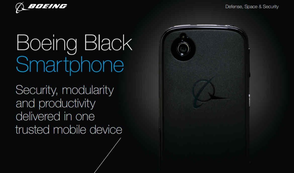 Boeing Black, el próximo smartphone de Blackberry