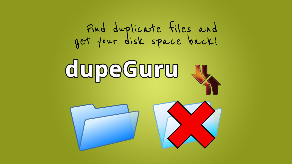 dupeguru II