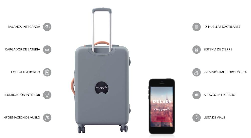 Pluggage, la maleta conectada ideal para recorrer el mundo