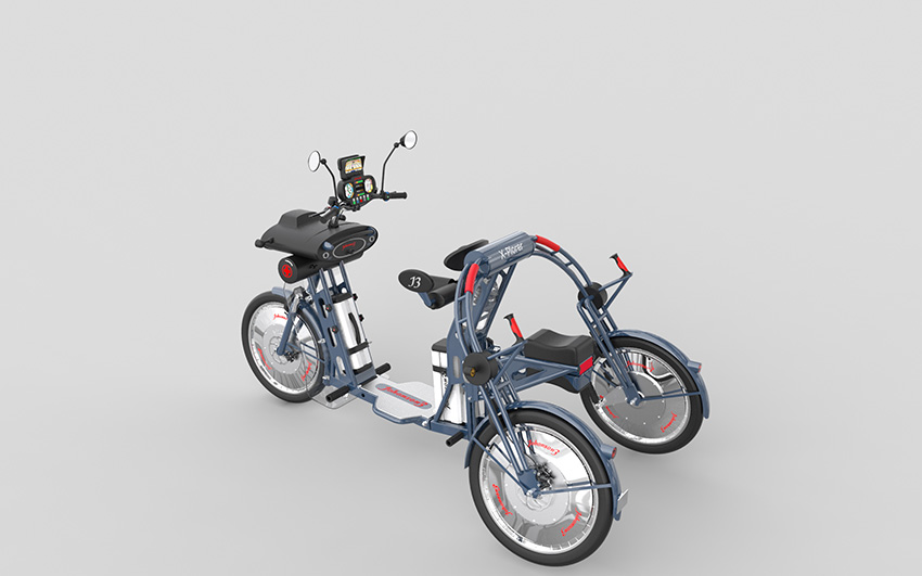 Johanson3, el nuevo triciclo eléctrico para moverte por la ciudad