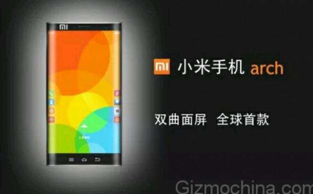 Xiaomi Arch, el primer smartphone con pantalla curvada por los dos laterales