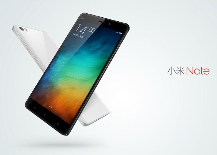 Xiaomi Mi Note, el nuevo phablet del mercado