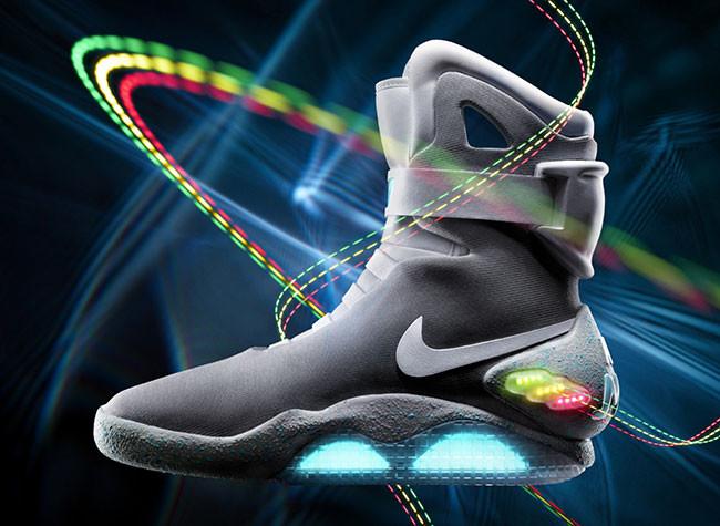 """Nike lanza las zapatillas de """"Regreso al futuro 2"""""""
