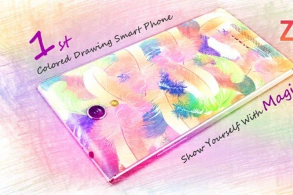 Zopo Magic, un 'smartphone' multicolor