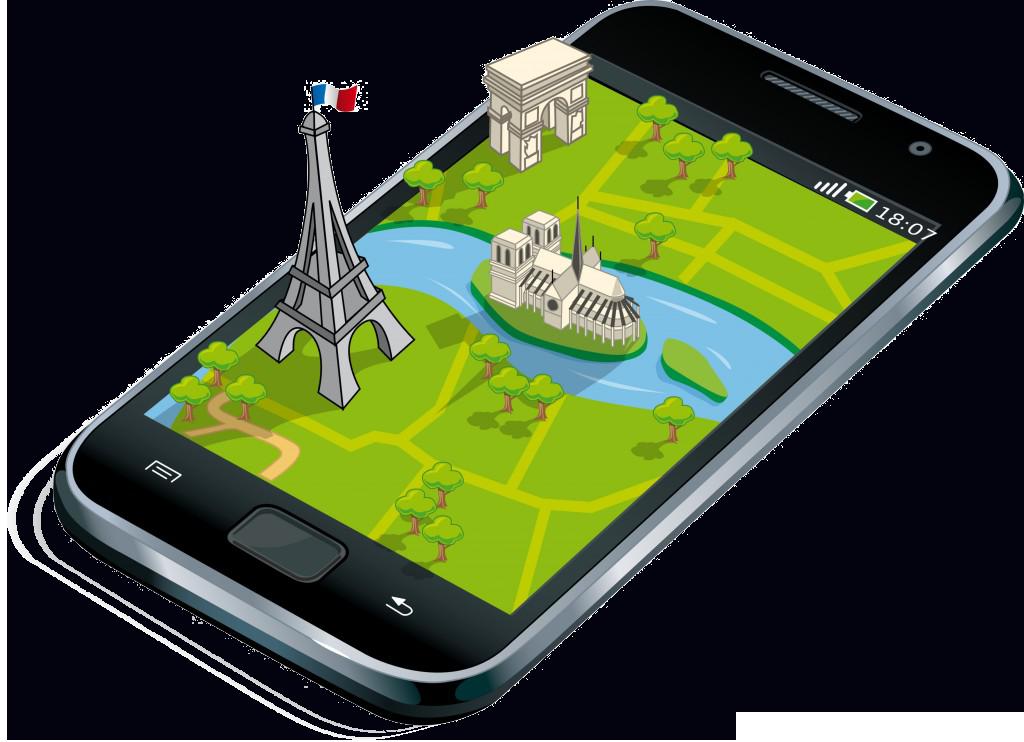 Las 3 mejores apps Android para viajar