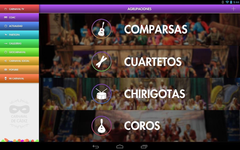 El Carnaval de Cádiz, la app