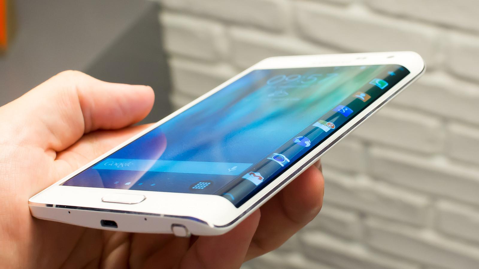 Galaxy Note Edge.  Agotado el revolucionario modelo de Samsung