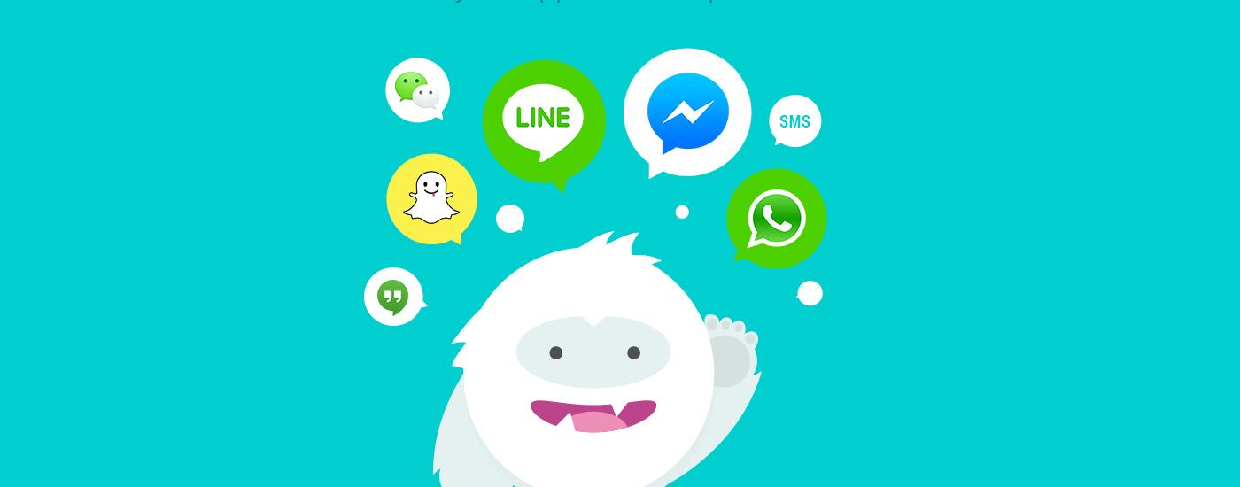 Snowball, la app para controlar tus cuentas en redes sociales