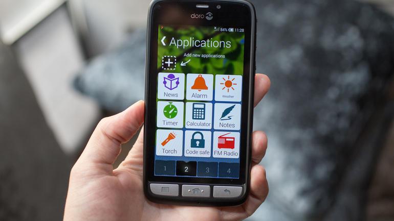 Doro Liberto 820 mini, un smartphone para las personas mayores