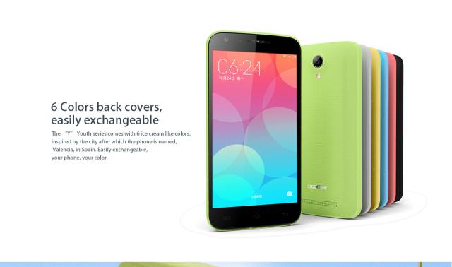 Doogee Y100, un smartphone por menos de 100 euros
