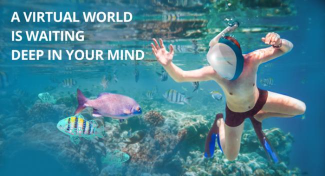 Nautilus VR, unas gafas de realidad virtual para simular bucear en el mar