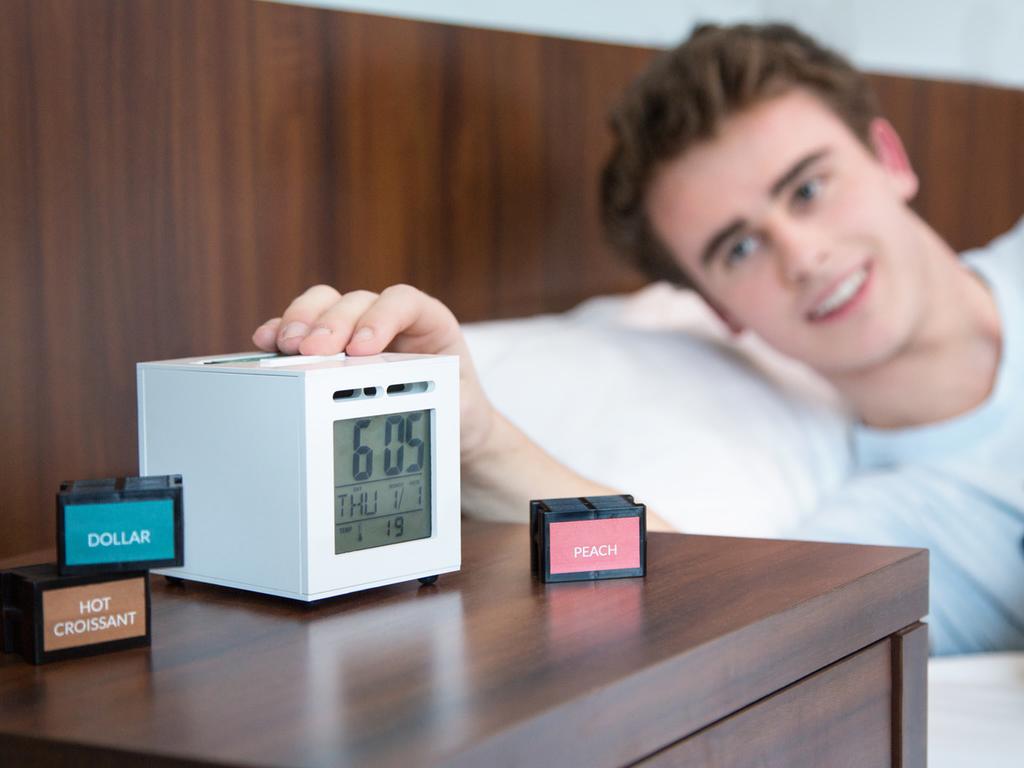 SensorWake, el despertador que nos levanta de la cama con olor a café y croissants