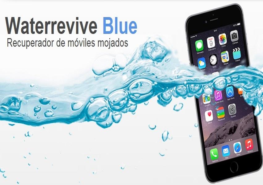 Waterrevive Blue, la solución para, en siete minutos, arreglar un móvil mojado