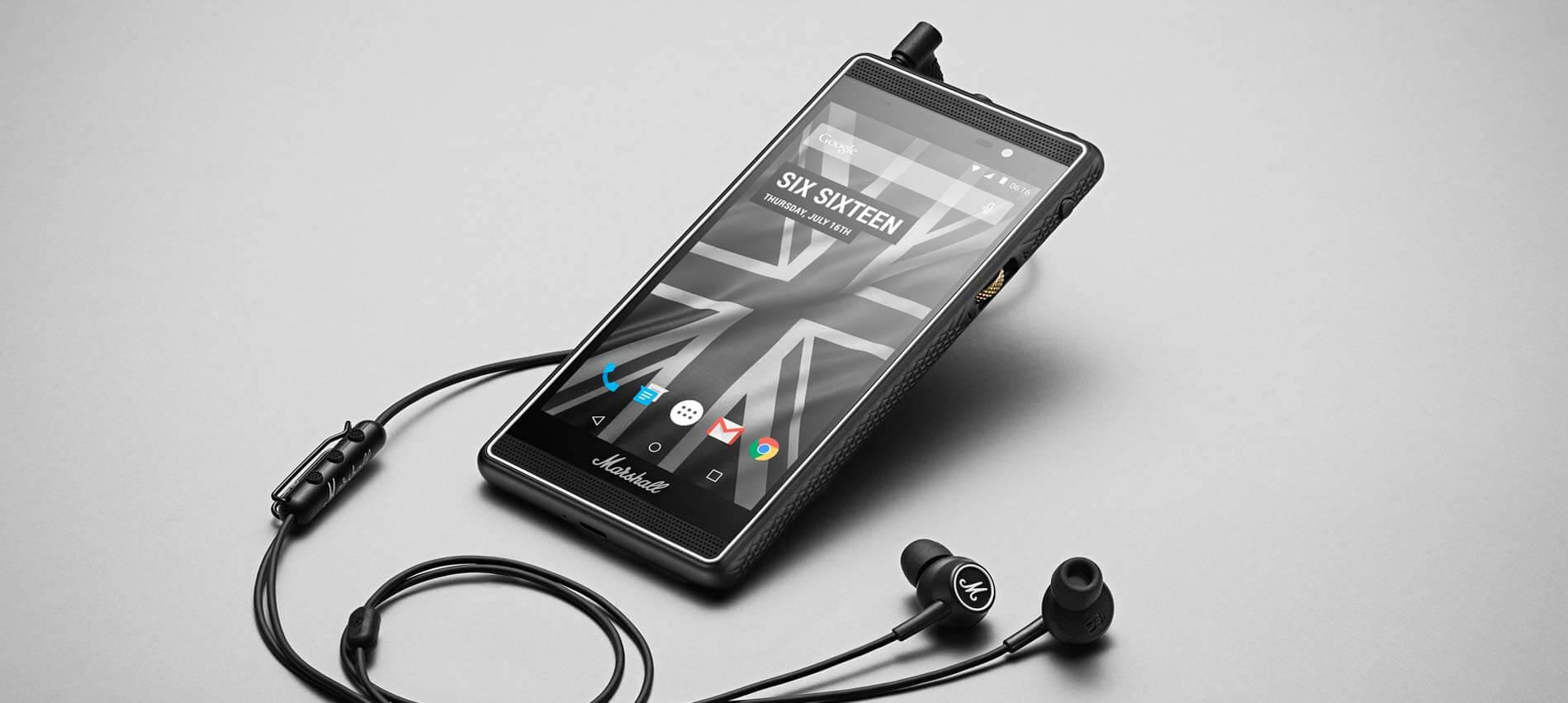 Marshall London, el smartphone perfecto para los apasionados de la música