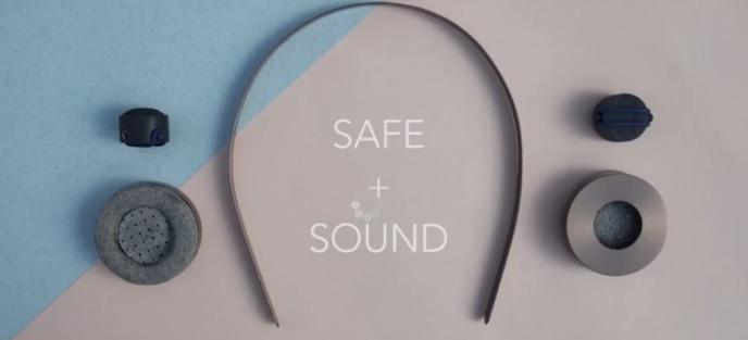 Safe + Sound, el gadget para escuchar música a través de los huesos