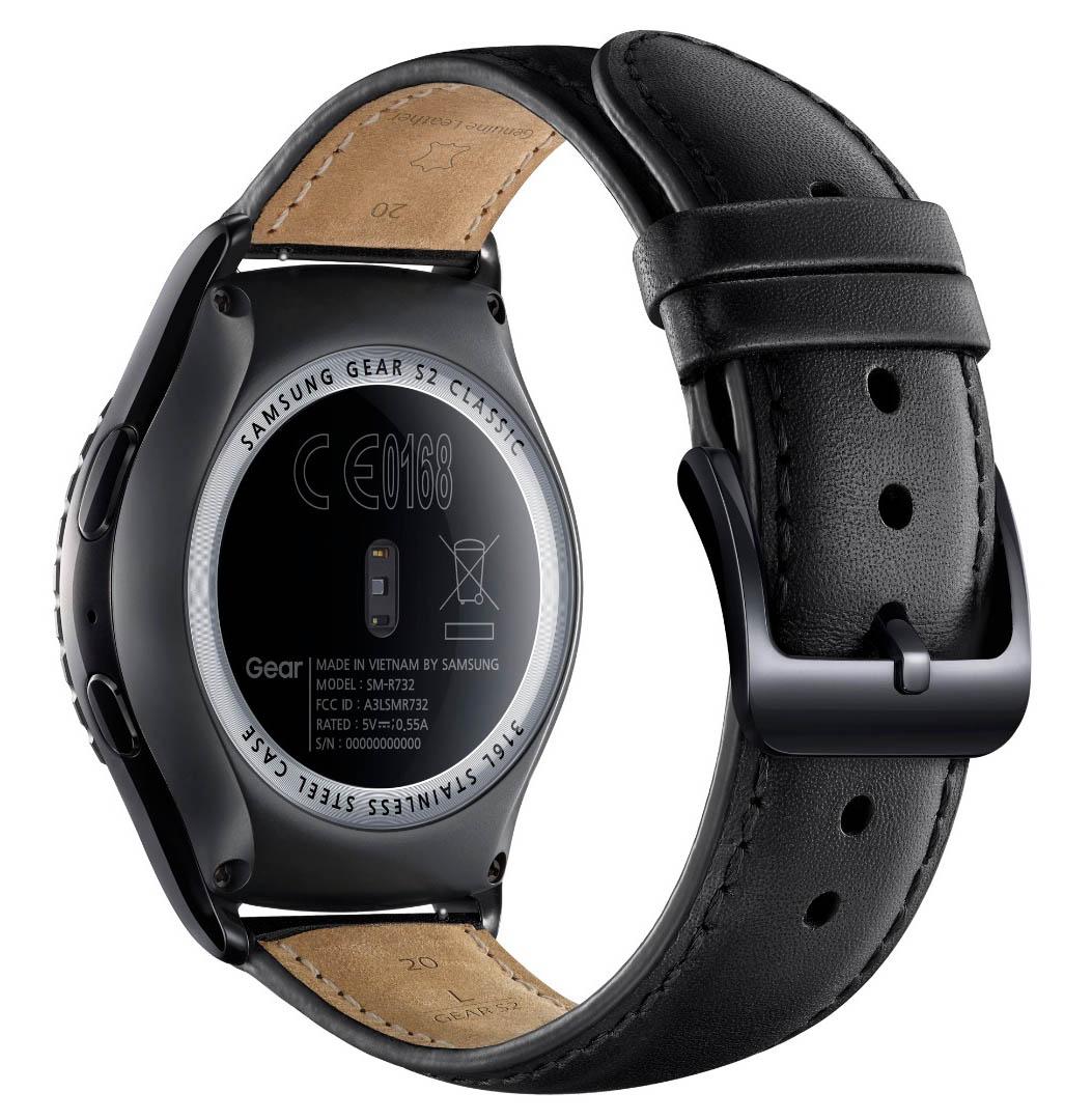 Así es el nuevo reloj Samsung Gear S2