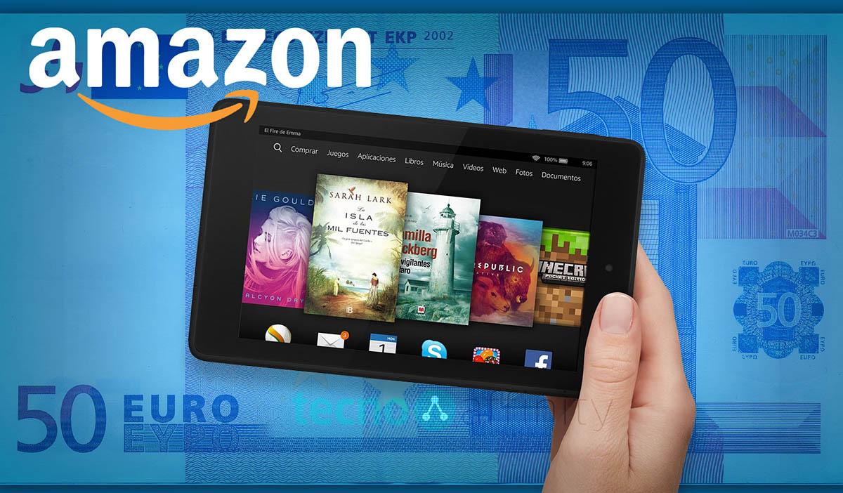 Amazon 50 eur tableta