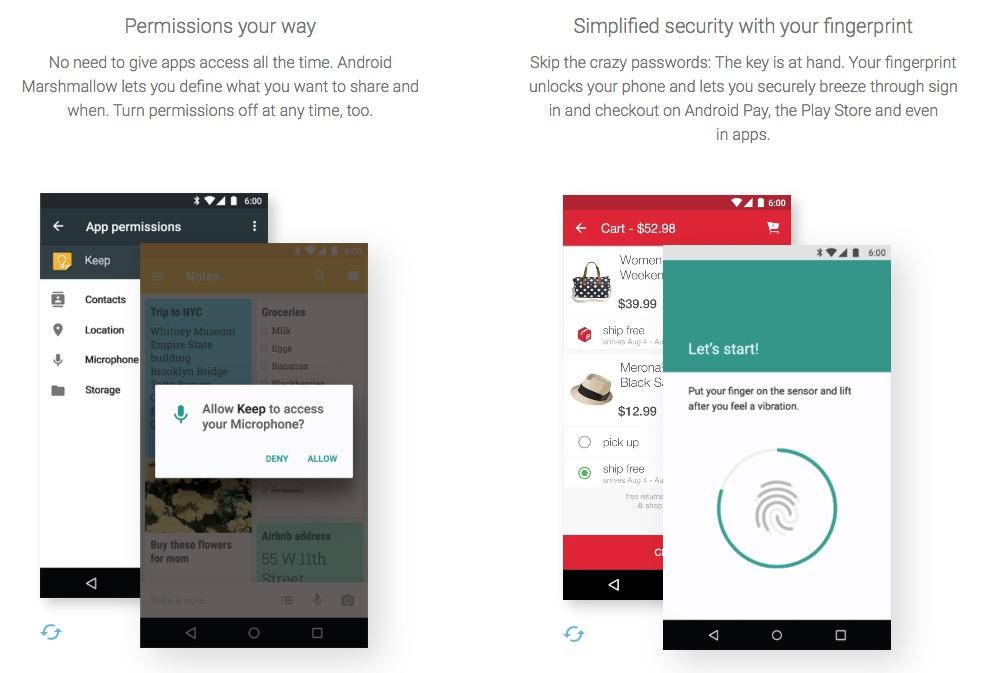 Android 6 novedades