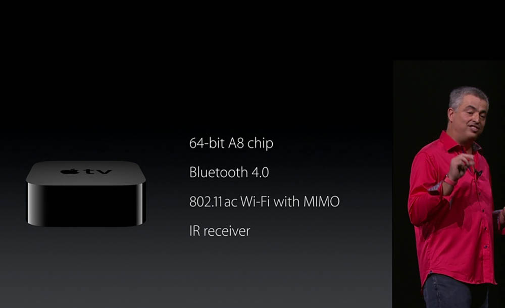Apple TV hardware