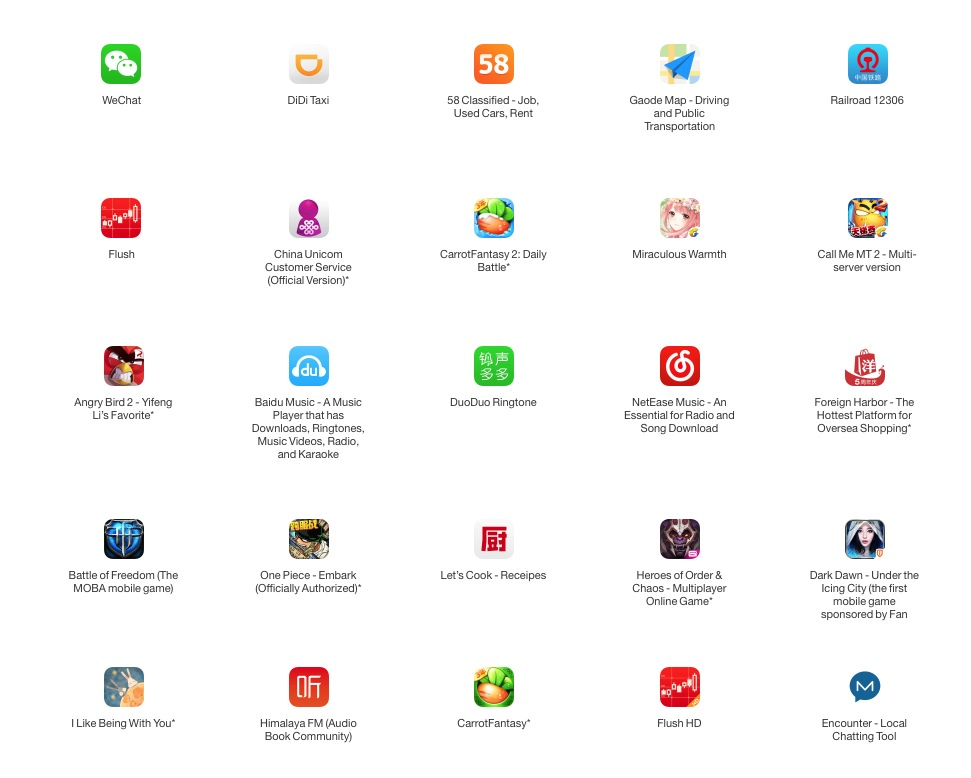 Apps infectadas Apple