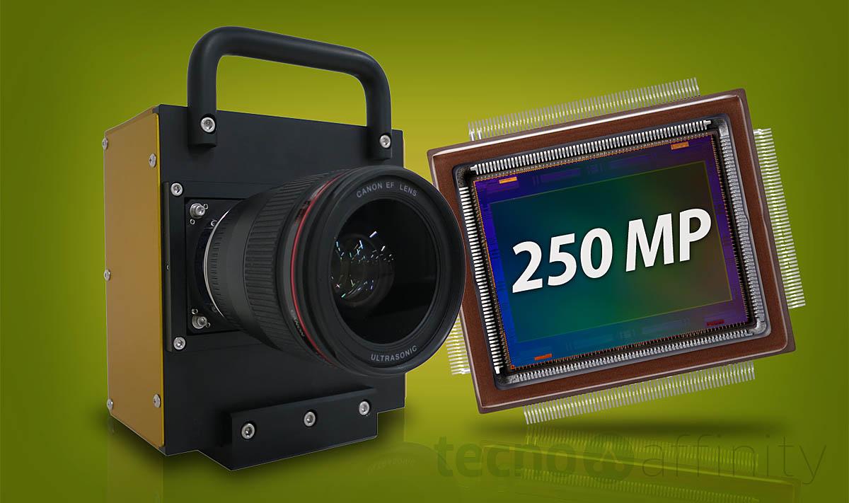 Canon crea una cámara con sensor de 250 MP