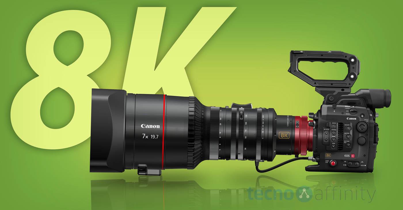 Canon anuncia una cámara réflex de 120 MP y un sistema para grabar vídeo 8K