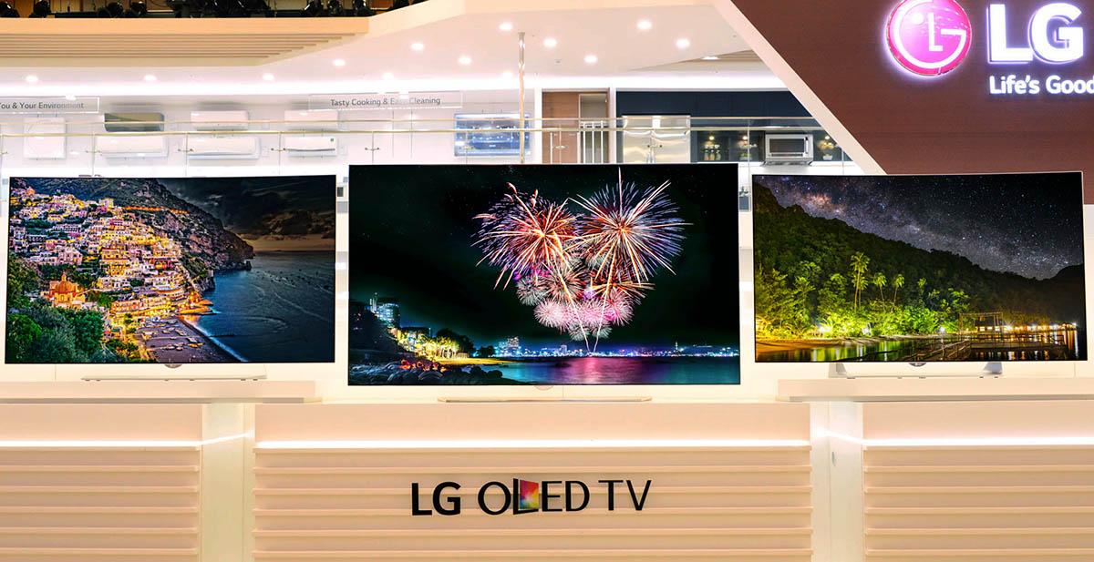LG amplía en IFA su gama de televisores OLED