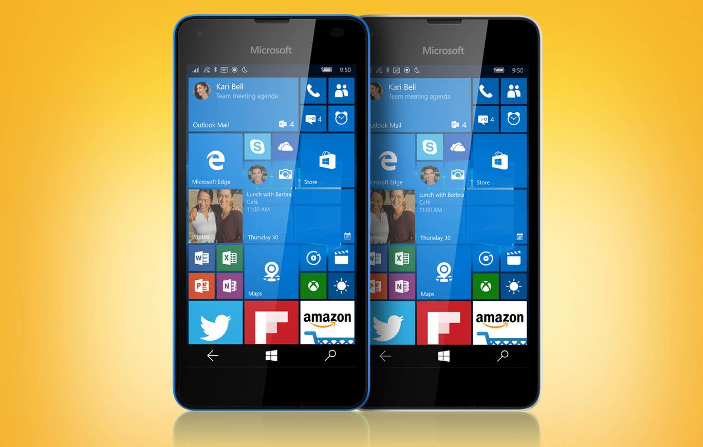 Lumia 550 apertura
