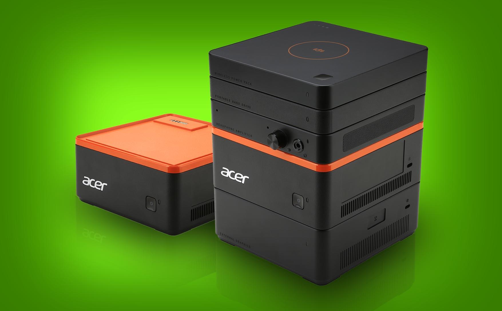 Acer presenta el PC modular Revo Build y un todo en uno con cámaras 3D para Windows Hello