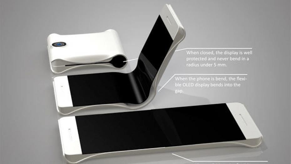 Smartphone-pantalla-plegable