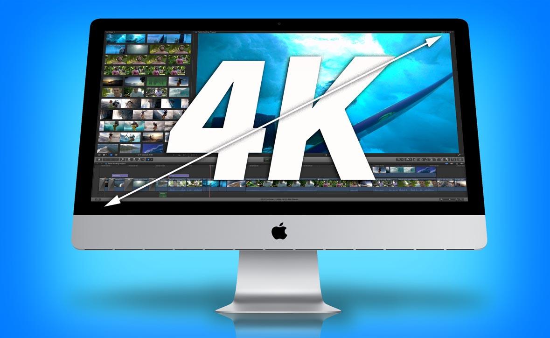 iMac de 21,5 pulgadas y pantalla 4K para finales de octubre