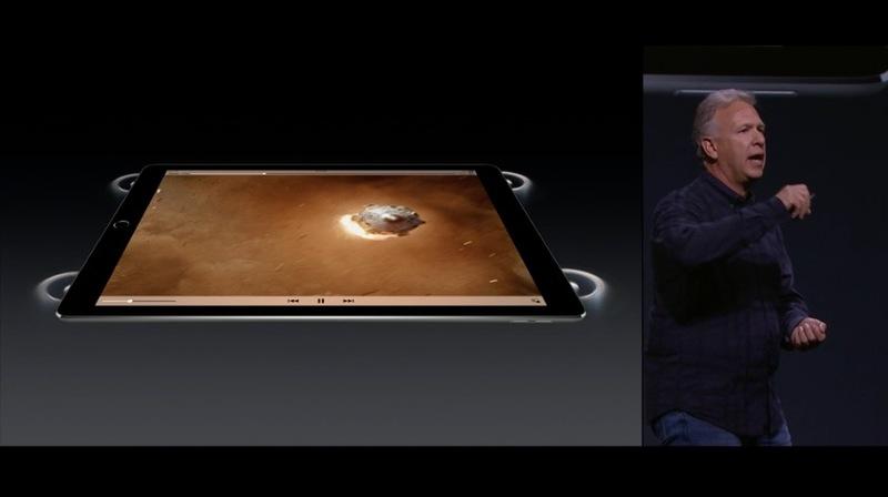 iPad Pro altavoces