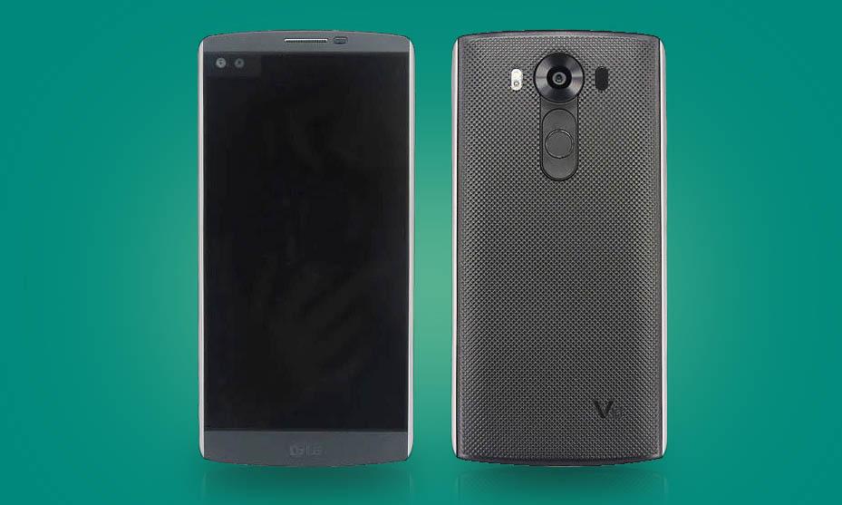 LG presentará en octubre el V10, un smartphone con pantalla secundaria para notificaciones