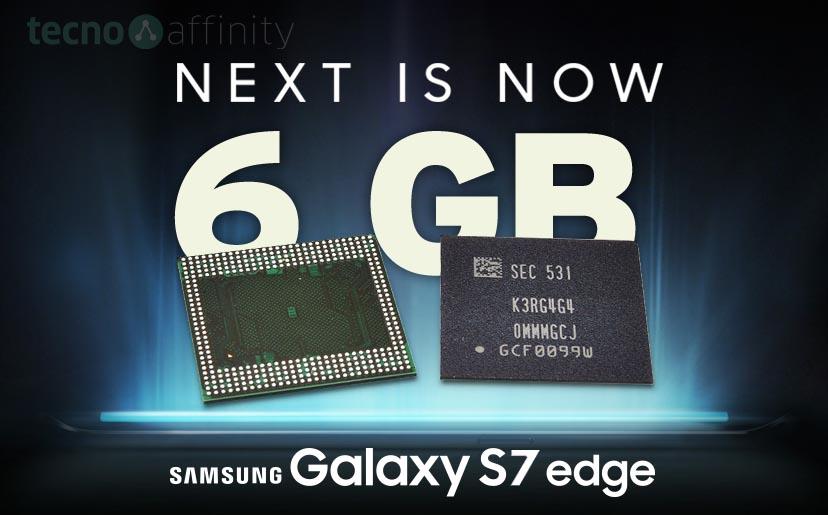 El Samsung Galaxy S7 equipará 6 GB de RAM