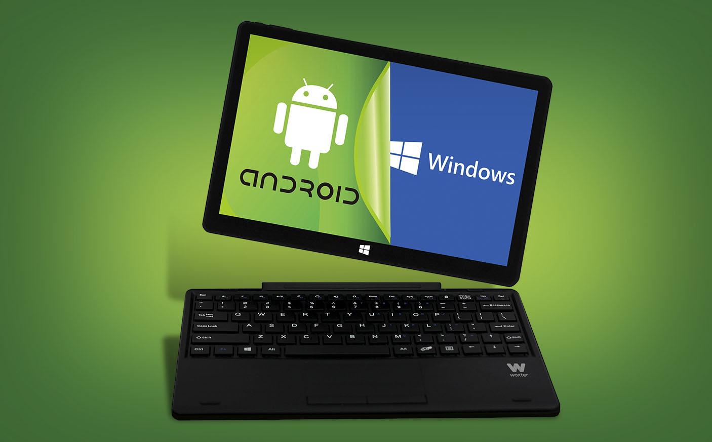 Woxter ZEN 10, una tableta que combina Android y Windows 10