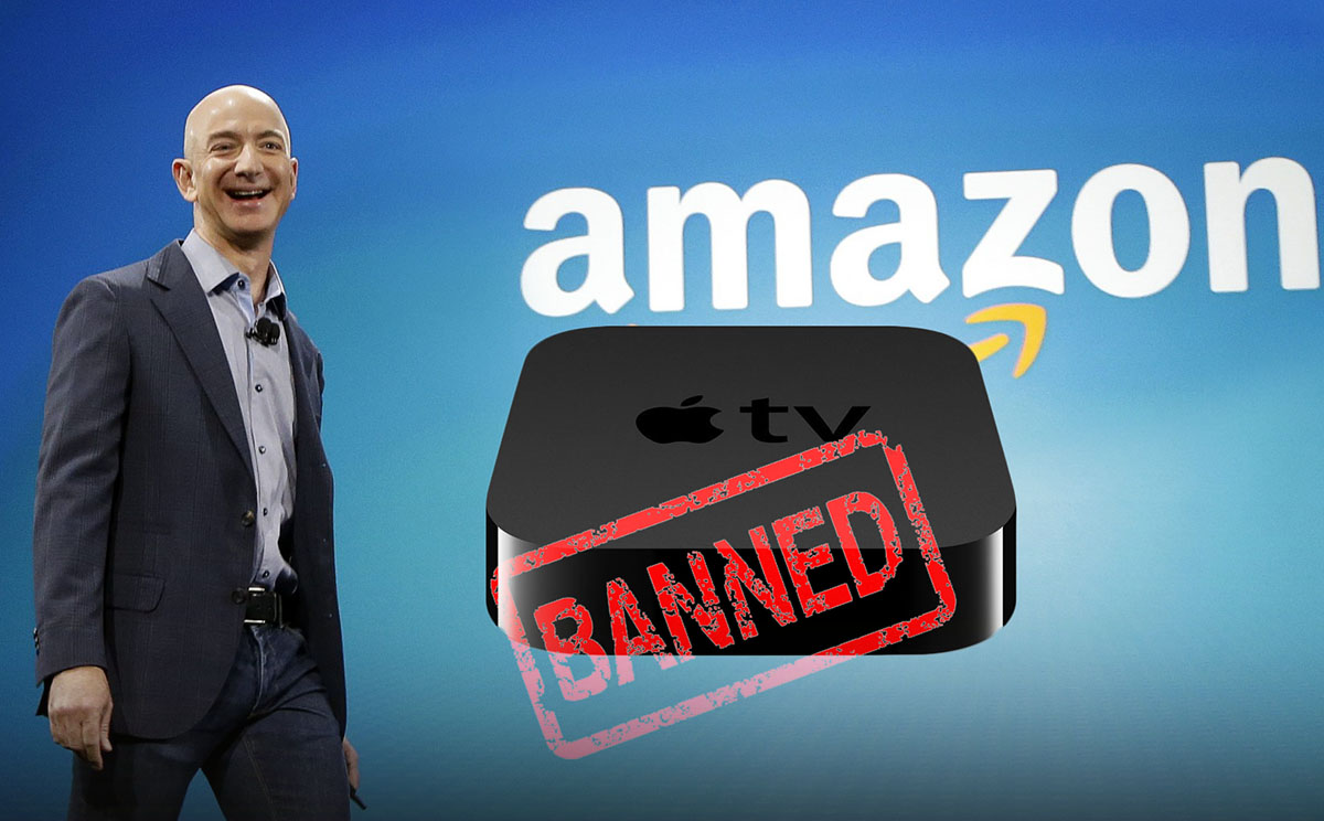 Amazon Prohibe Apple TV